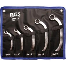 Set chei inelare semiluna 8x10-21x22 mm