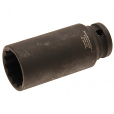 "Tubulara impact 12 laturi 27mm 1/2"""